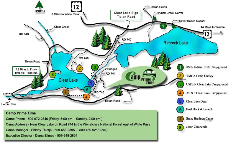 Camp Road Map